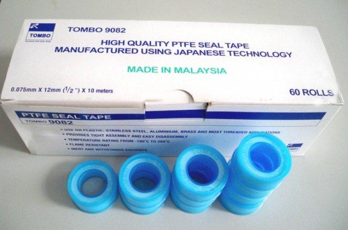 Băng keo non 9082 Tombo, đường kính 12mm, độ dày 0.075mm, dài 10m Tombo