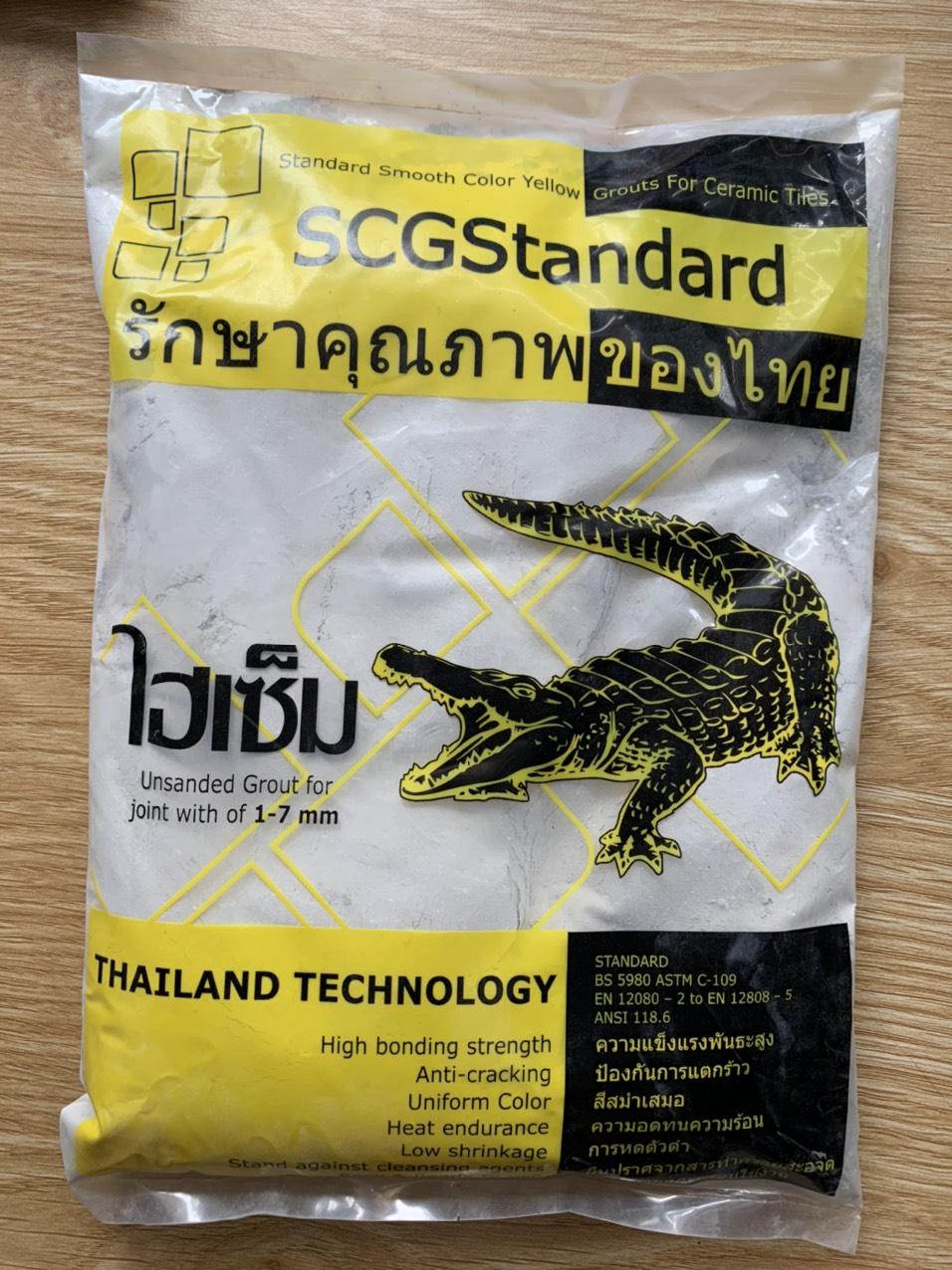 Bột keo chà ron con cá sấu màu xám 1Kg Super SSCG SUPERSSCG SUPER SSCG