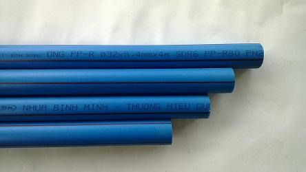 Cây 4m ống ppr phi 20 dày 3.4mm Bình Minh Nhựa Bình Minh BMPlasco Nhua Binh Minh