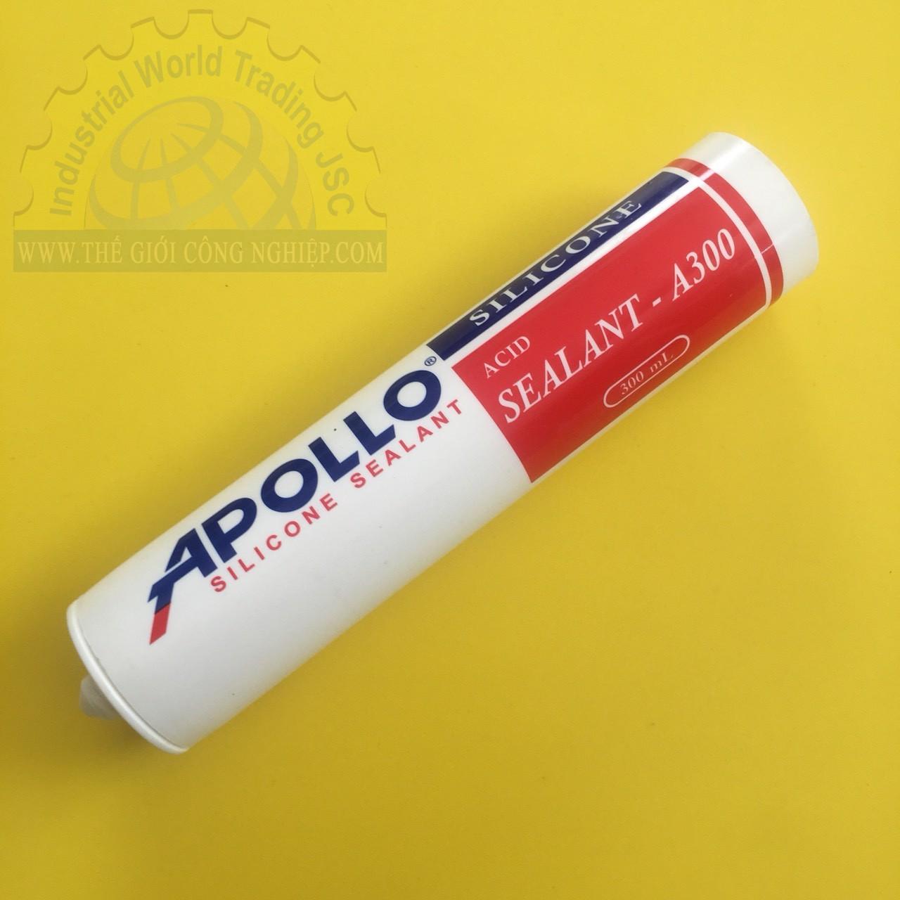 Keo silicon 300ml A300 màu trắng sữa (White) Apollo