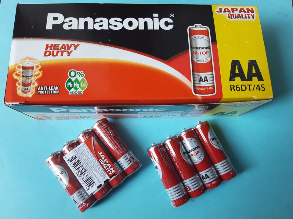 Pin AA Panasonic Hi-TOP, R6DT/4S-V (R6DT/4S) Panasonic