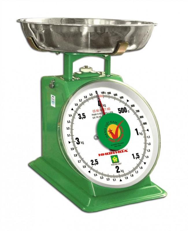 Cân đồng hồ mặt số 10kg NHS-10 Cân nhơn hòa
