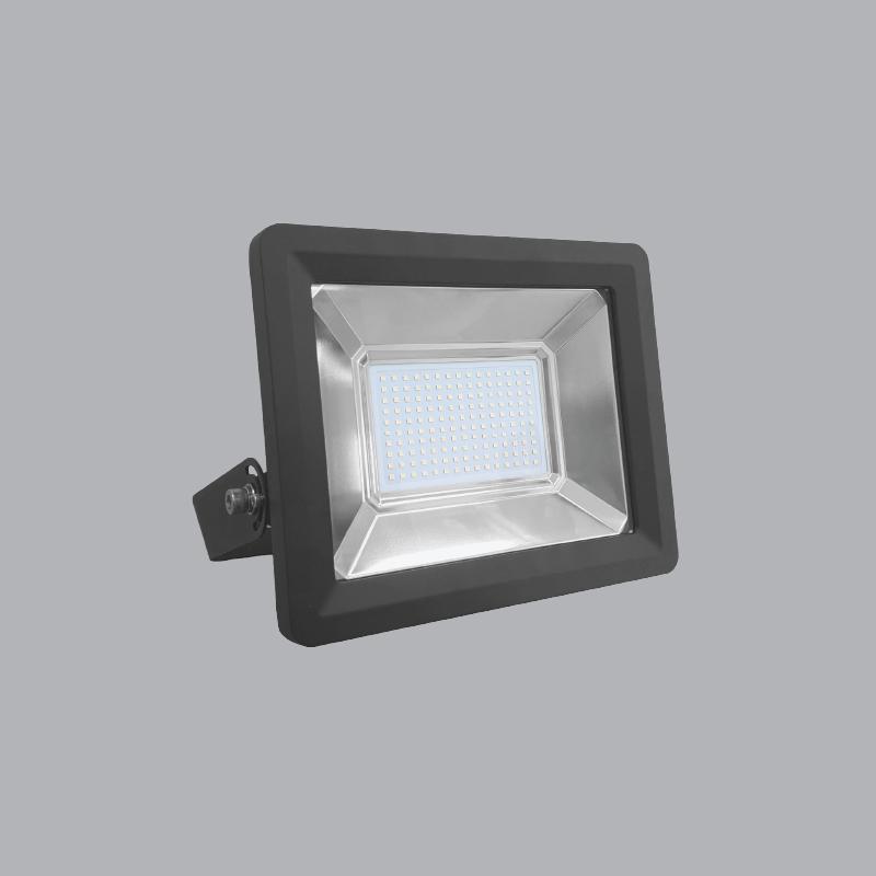 Đèn led pha 100w ánh sáng trắng, rộng 338mm, cao 248mm, dày 98mm, điện áp 100-240VAC, FLD2-100T Mpe
