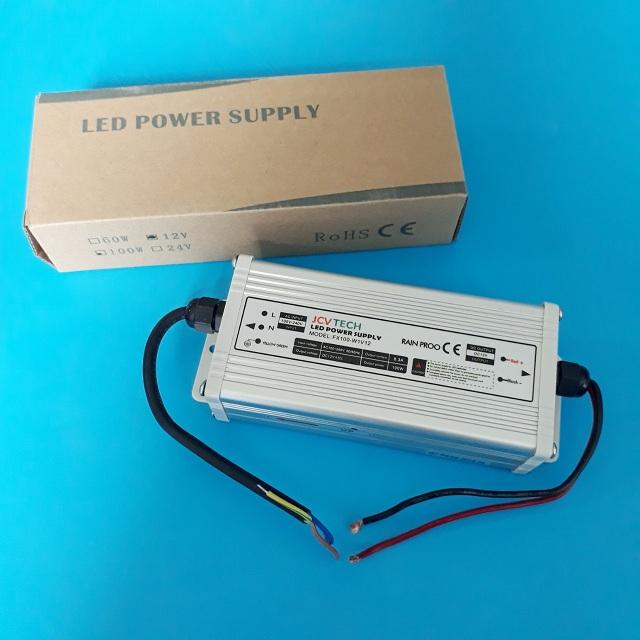Nguồn cho led dây 12v 100w jcv-100-12 jcvtech JCVTECH