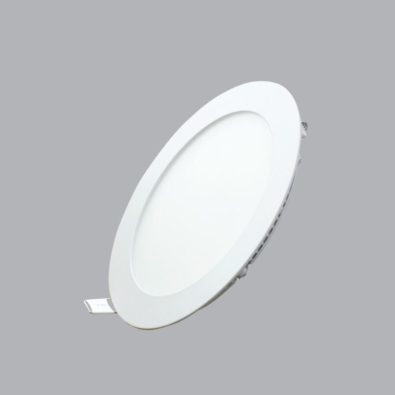 Đèn Led panel tròn âm 9W ánh sáng vàng RPL-9V MPE, điện áp 100-240VAC, kích thước Ø150x25mm, kích thước lỗ khoét Ø130mm