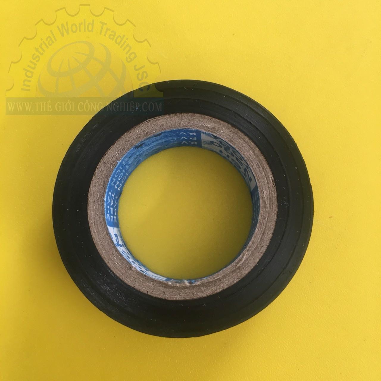 Băng keo điện pvc 20 yard Nano, bản rộng 18mm, độ dày 0.12mm Nanoco