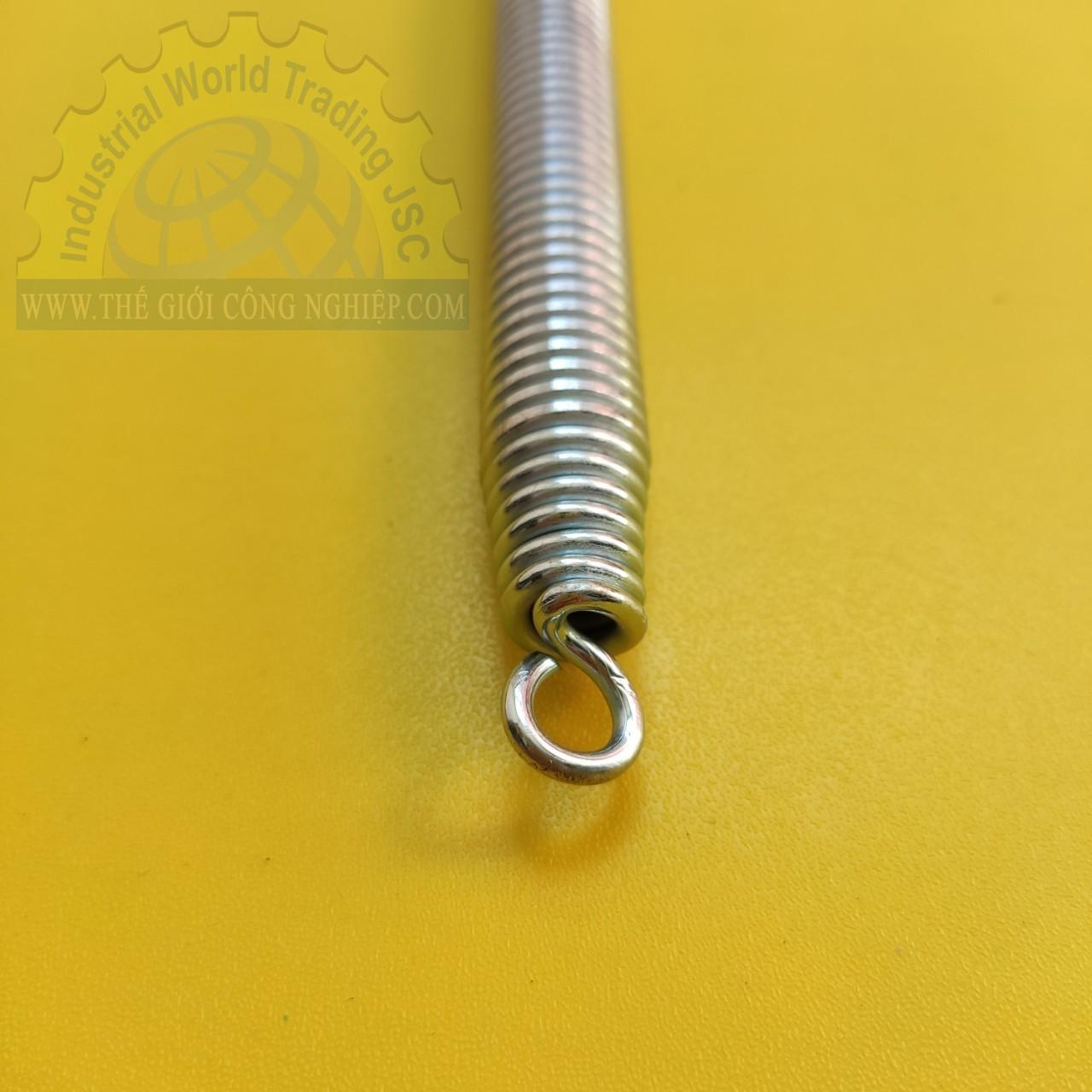 Lò xo uốn ống cứng đường kính 16mm, dài 500mm, chất liệu thép không gỉ mạ xi Tienphatplastic TienPhatPlastic
