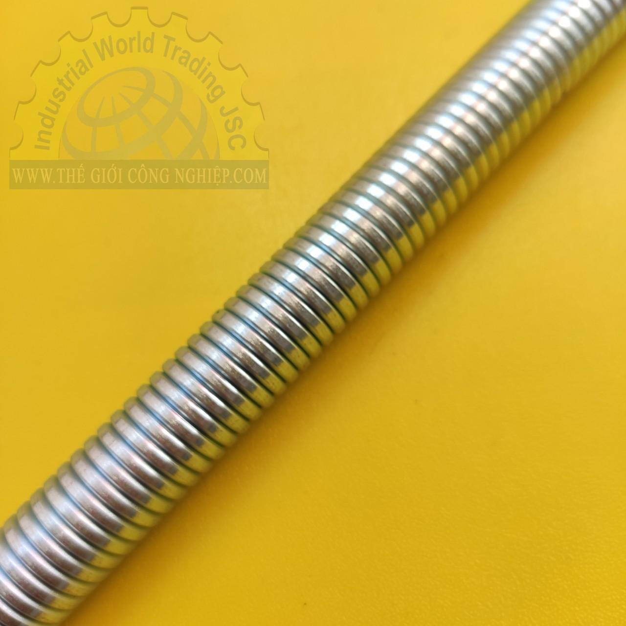 Lò xo uốn ống cứng đường kính 20mm, chất liệu thép không gỉ mạ xi Tienphatplastic TienPhatPlastic