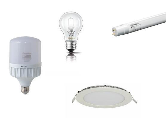 Đèn, Bóng đèn và phụ kiện