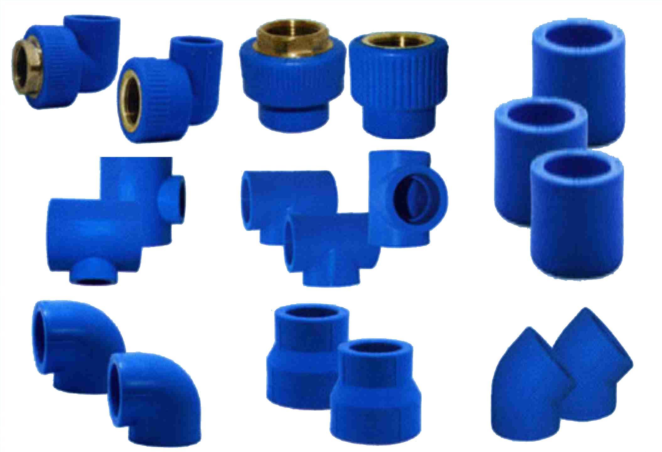 Phụ kiện cho ống nhựa chịu nhiệt PPR